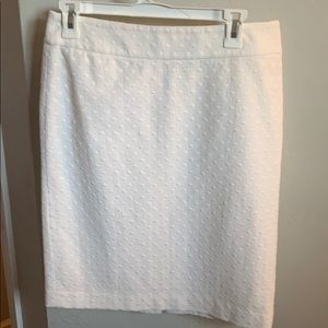 White Ann Taylor skirt